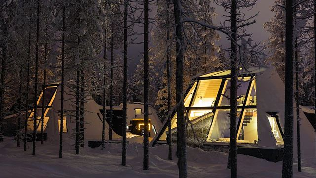 Snowman World Glass Resort apartment
