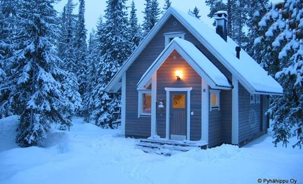 Christmas Cabin Rental.Finland Glass Igloos Hotels Holiday Ideas