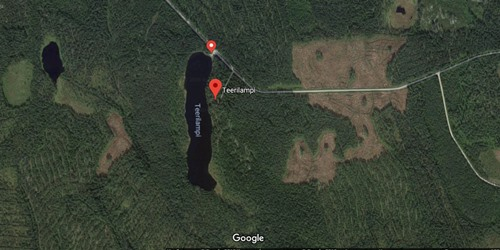 Озеро Teerilampi