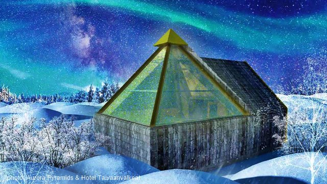 Aurora Pyramids