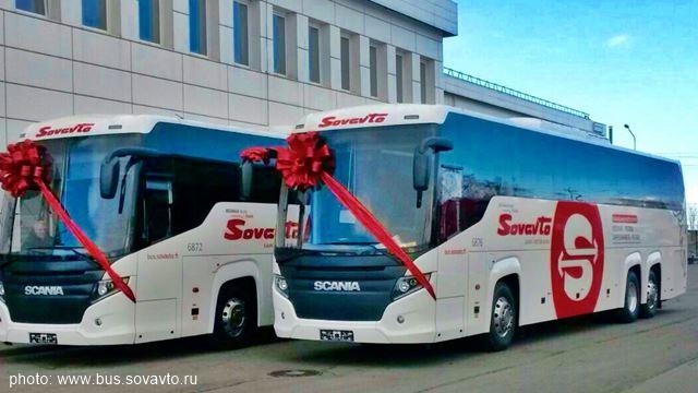 автобус Санкт-Петербург - Иматра СовАвто