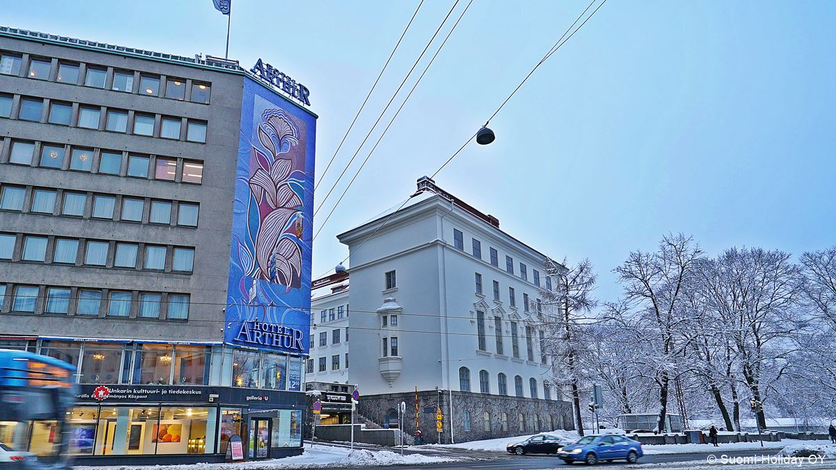 Cheap hotel near train station Helsinki Hotel Arthur