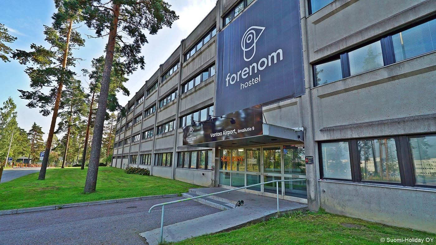 Cheap accommodation near Helsinki airport Forenom hostel