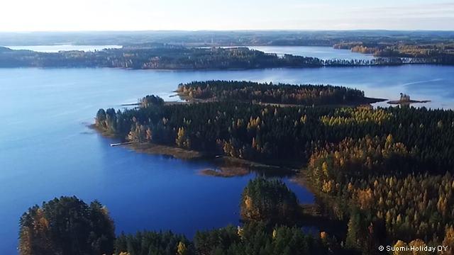 Озеро Пурувеси, Финляндия