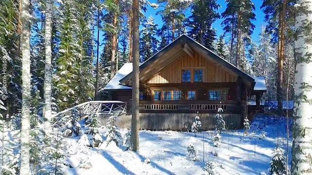 Снять коттедж в Финляндии на берегу озера Пурувеси