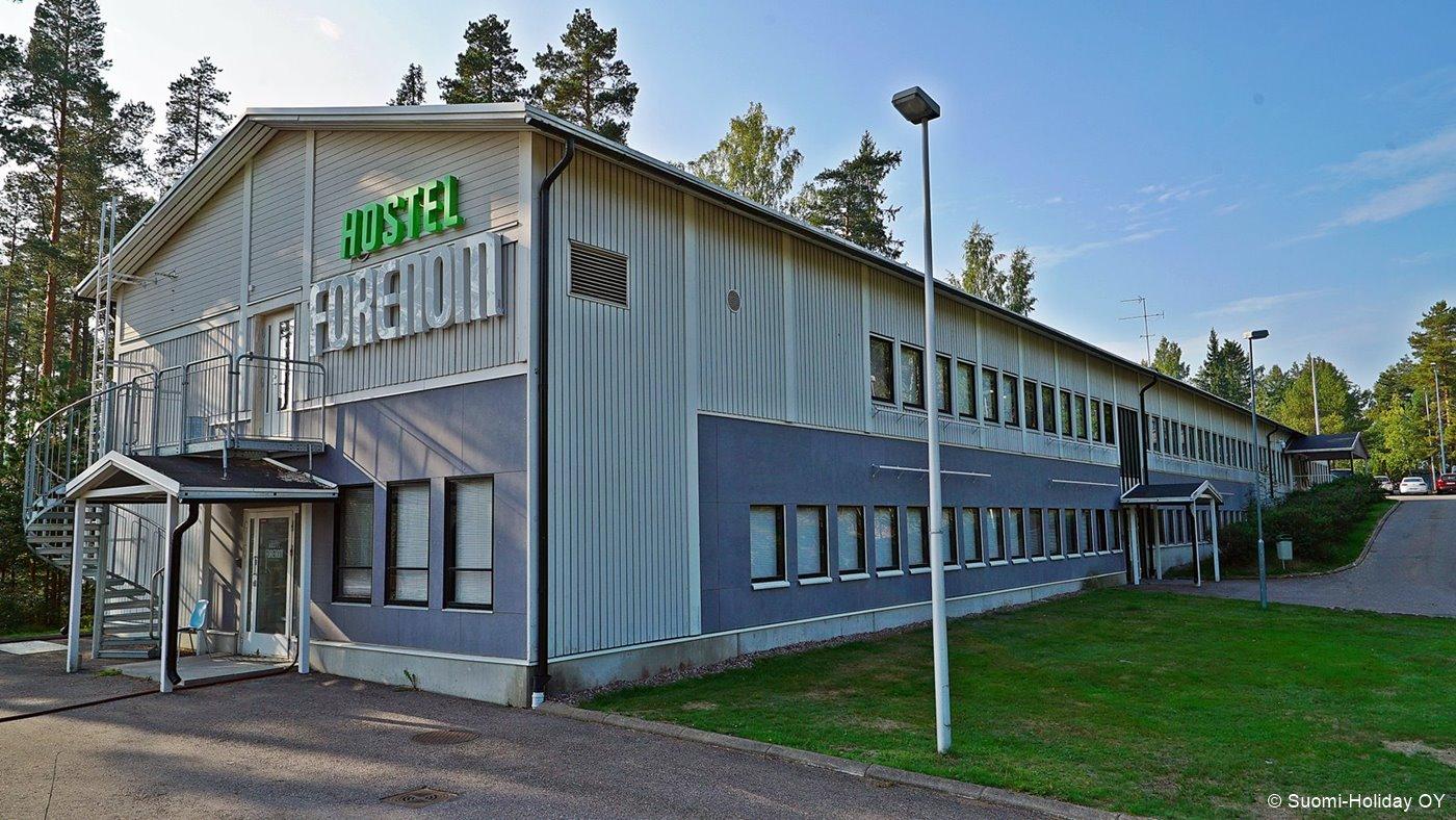 Helsinki airport hostels Forenom