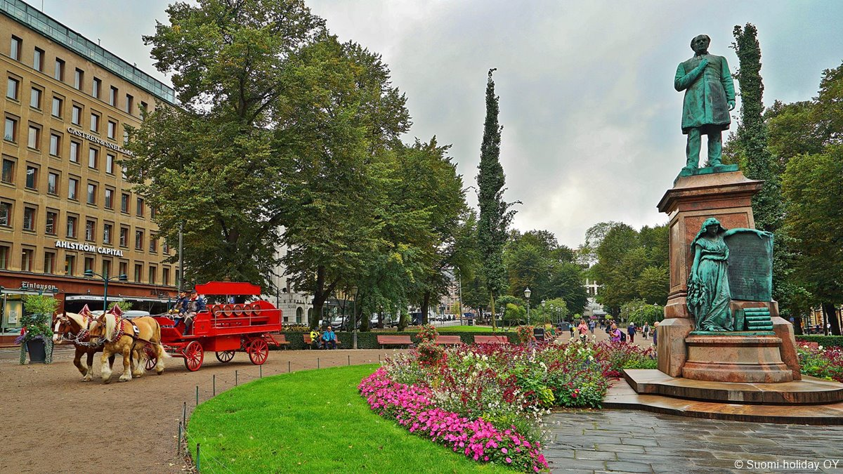 Esplanade Park Helsinki
