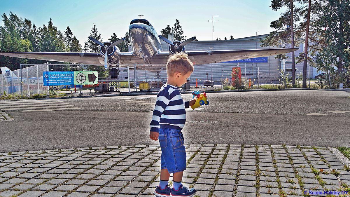 Музей Авиации Финляндии.