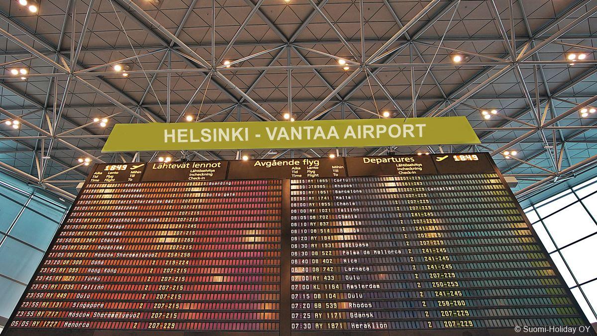 Helsinki airport schedule arrivals and departures