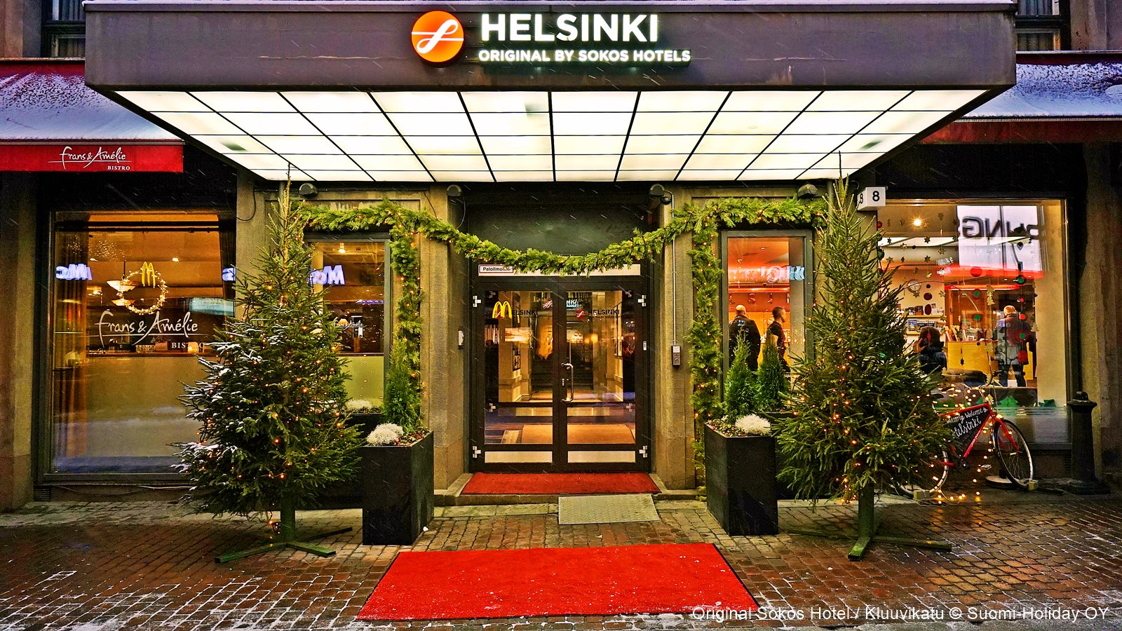 Original Sokos Hotel Helsinki downtown