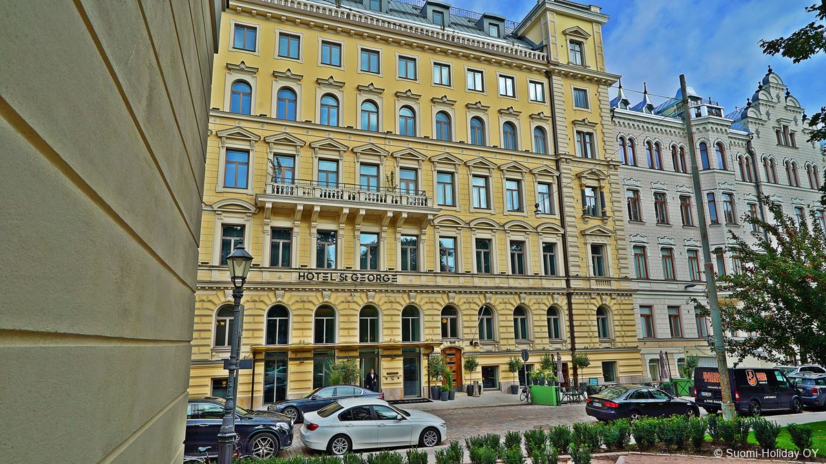 Hotel St George 5* boutique hotel Helsinki