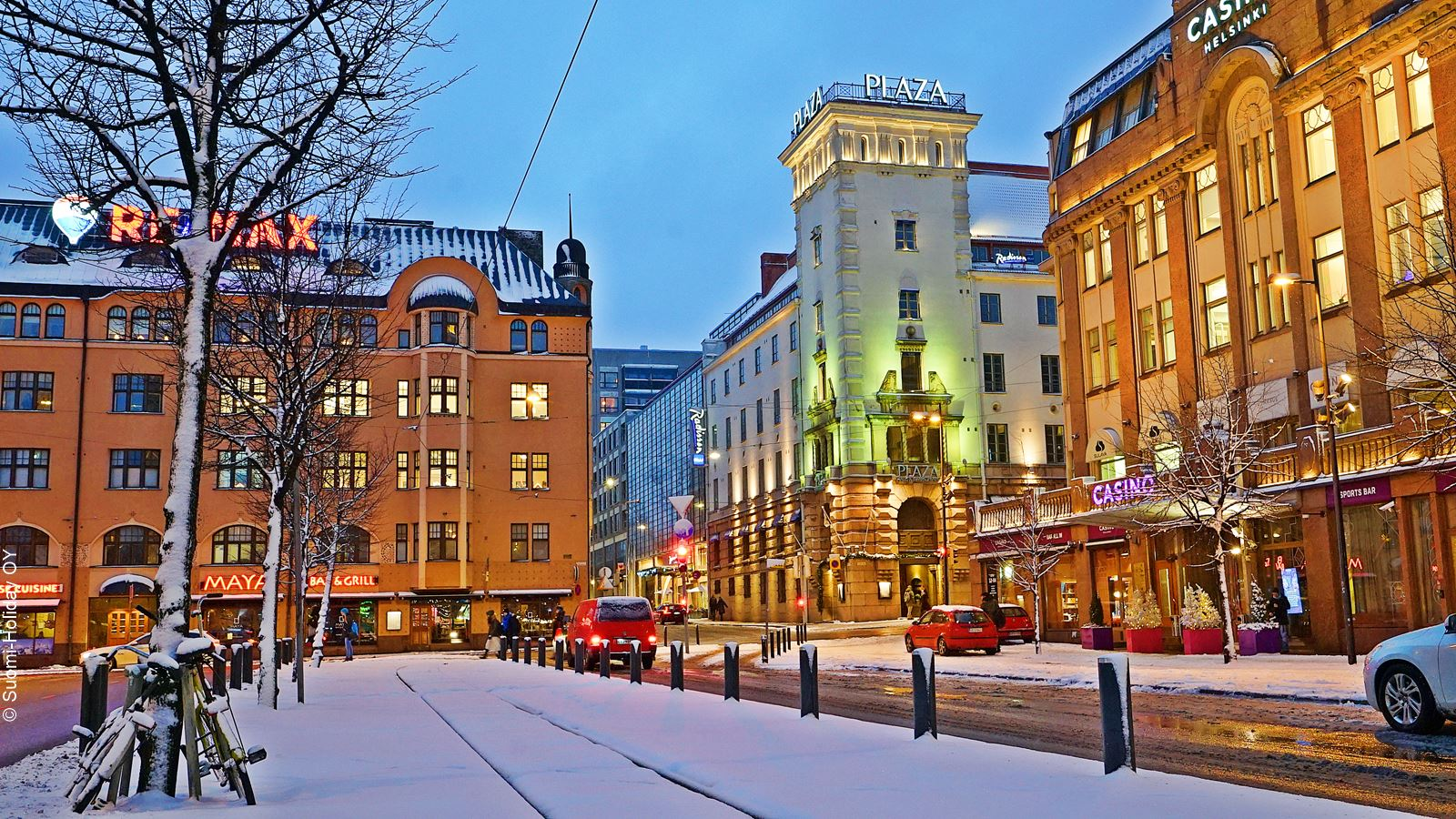 Helsinki hotels near train station