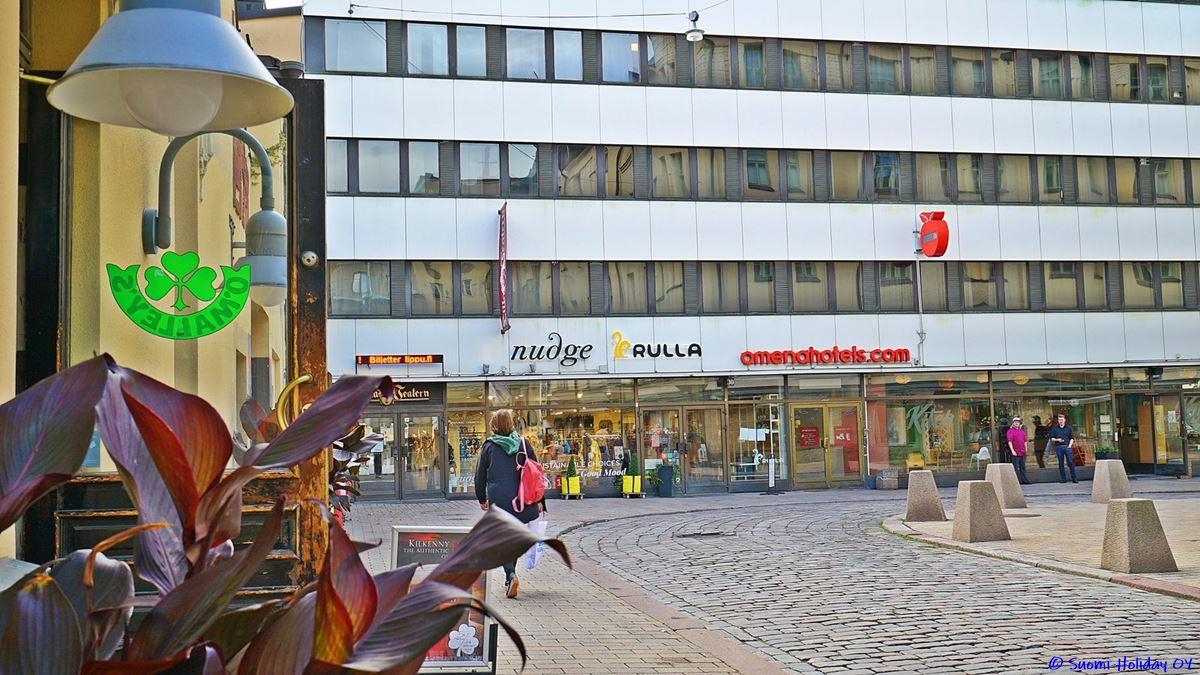 Омена отель Хельсинки недорого