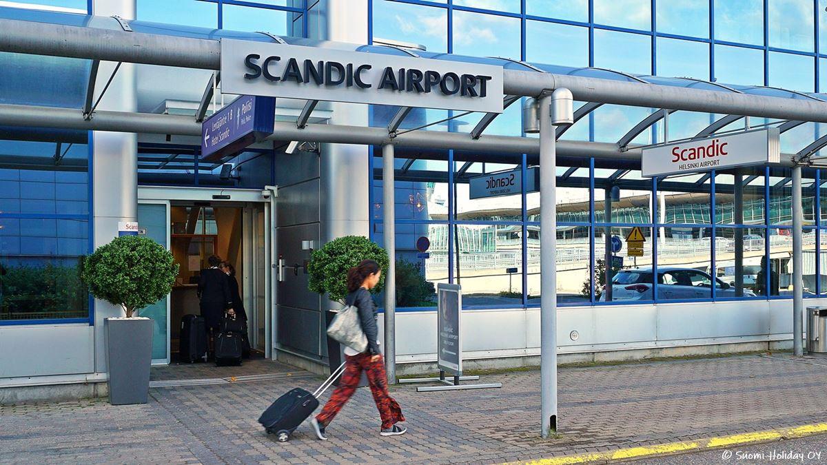 Scandic Helsinki Airport отель в аэропорту Хельсинки