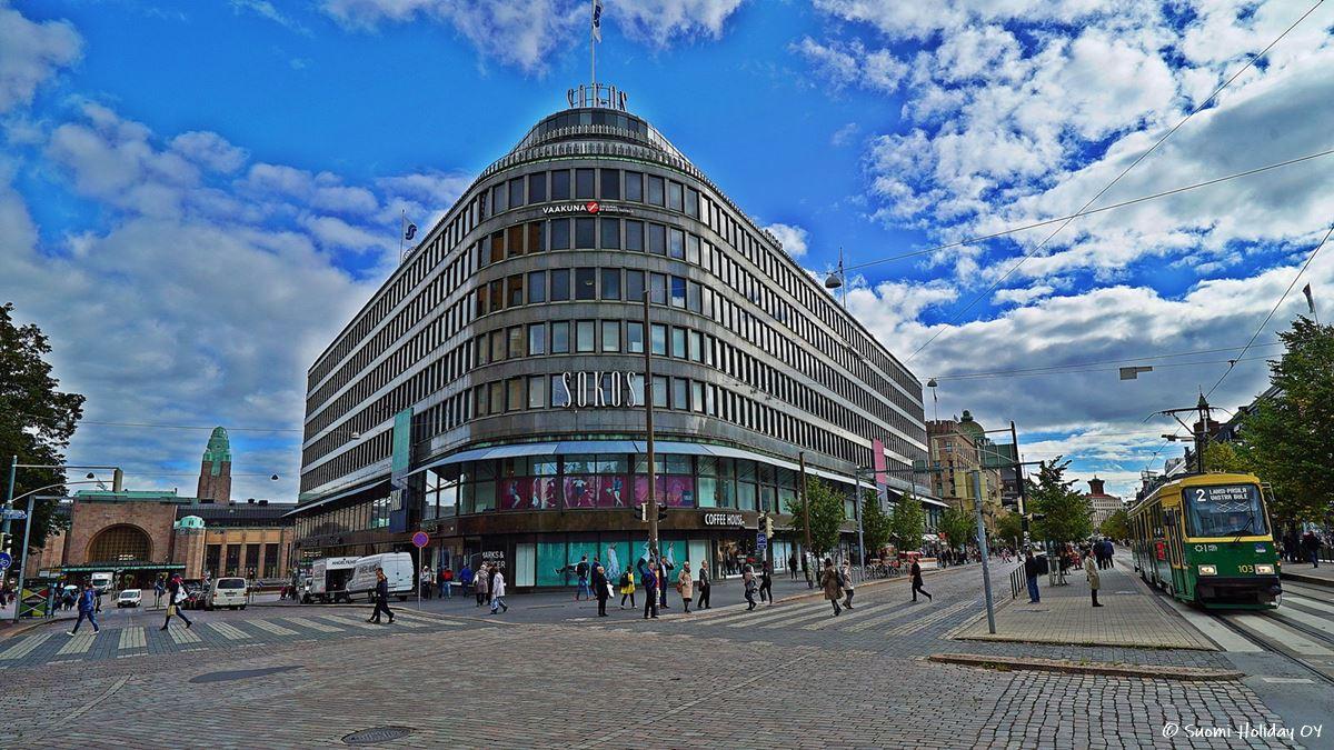 Отель Sokos Vaakuna рядом с вокзалом Хельсинки