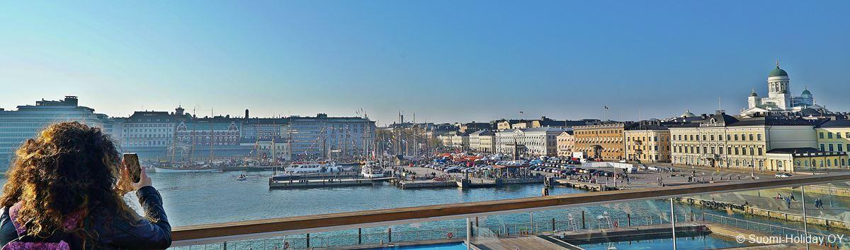 Helsinki summer view