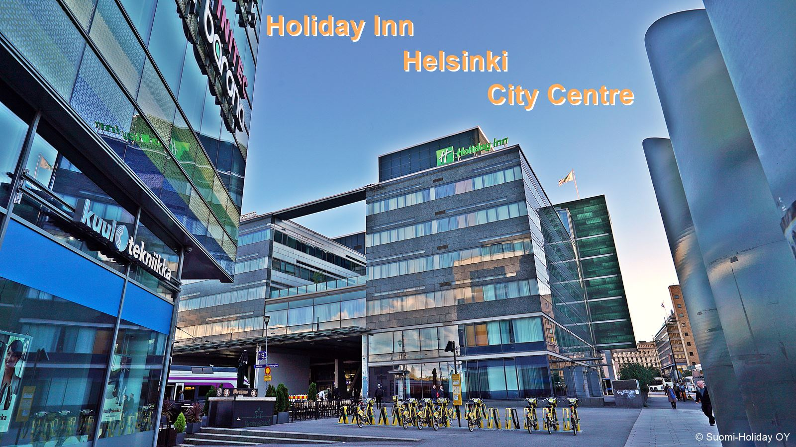 Holiday Inn Helsinki City Centre Hotel very close to Central station