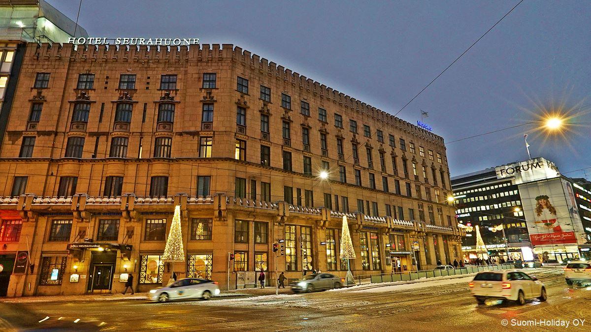 Seurahuone Helsinki Hotel near train station