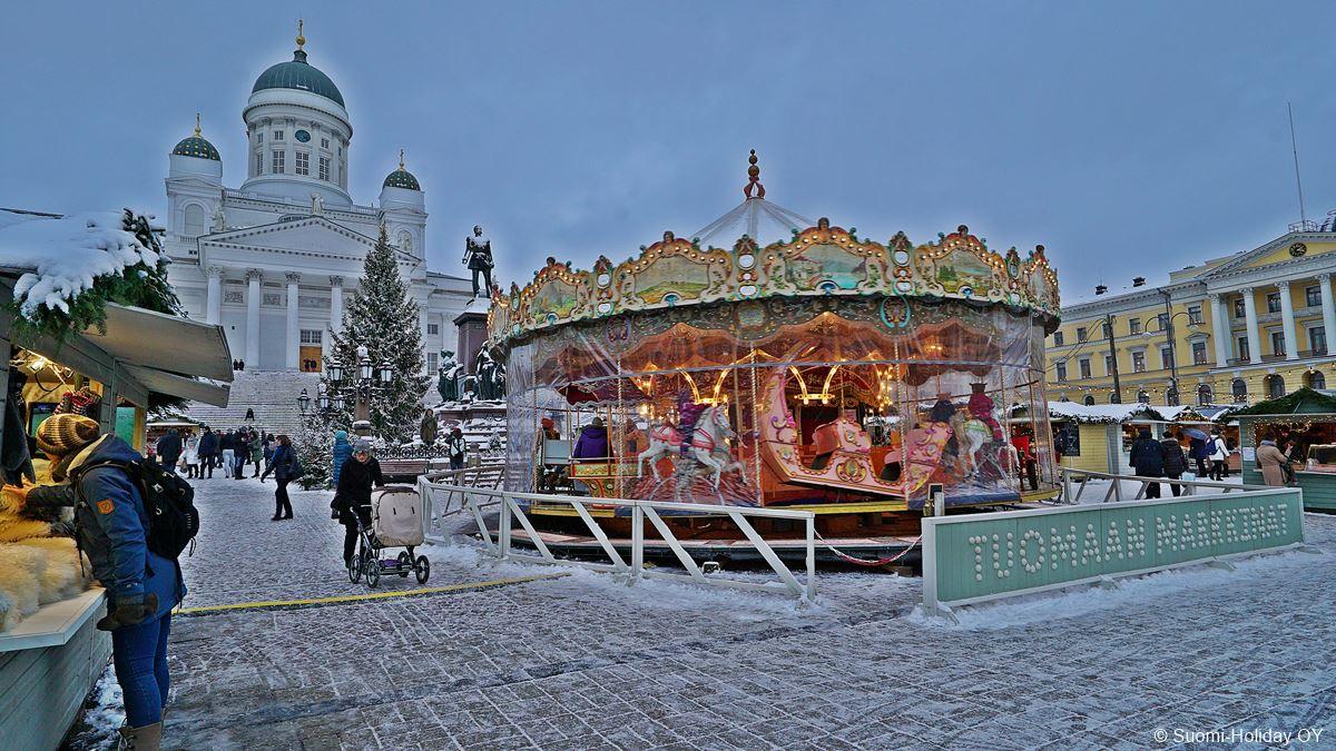 Helsinki Tuomaan Markkinat