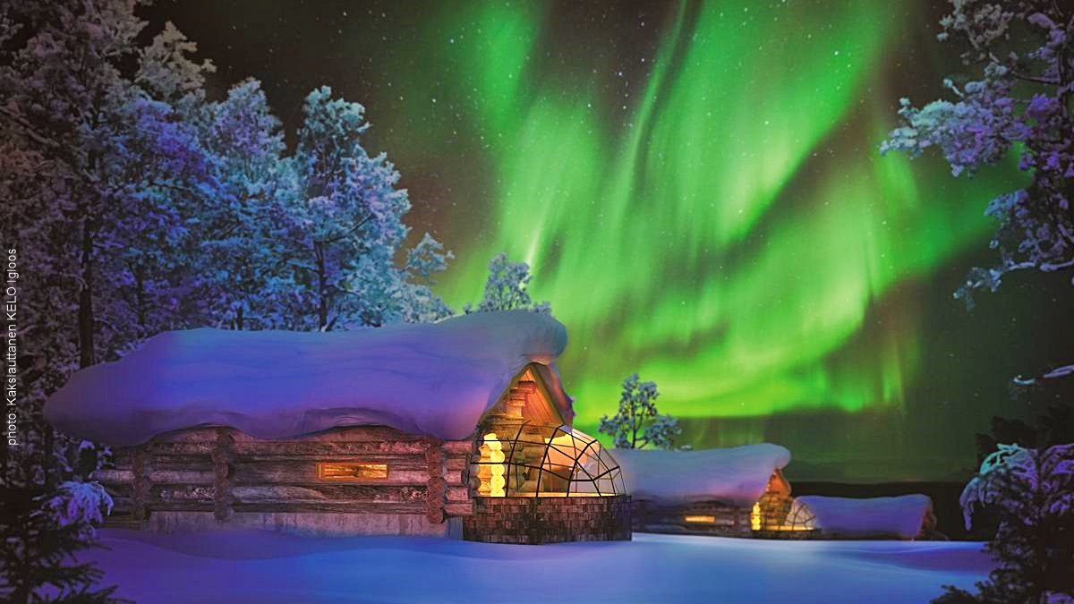 Kakslauttanen Arctic Resort - Igloos and Chalets