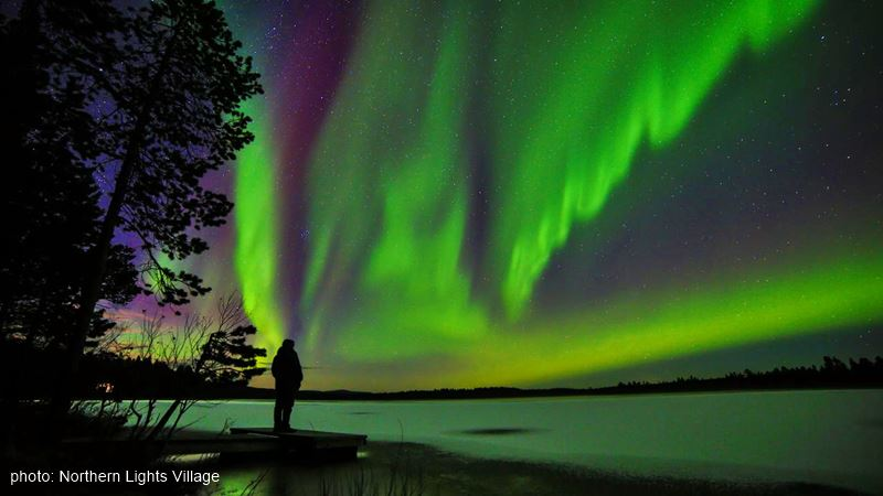 Northern Lights Village nature