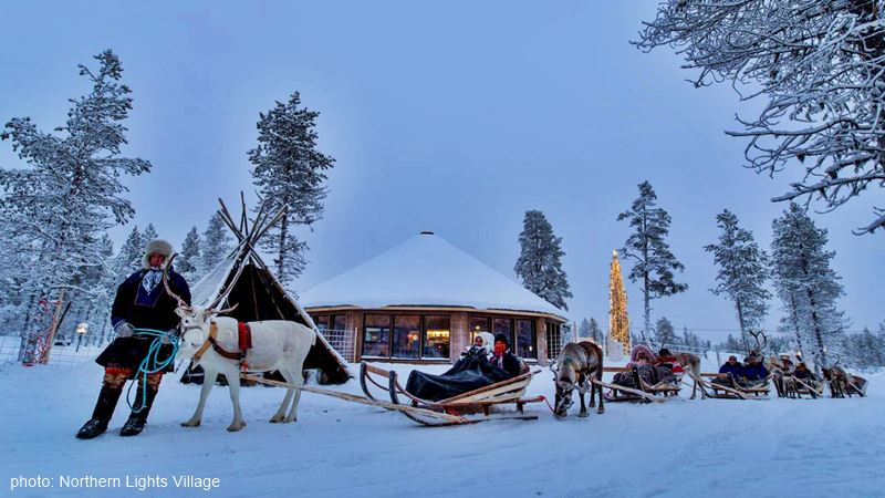 Northern Lights Village rendeer safary