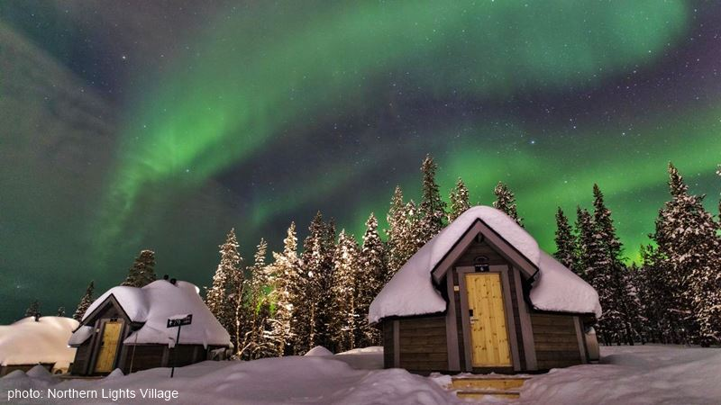 Northern Lights Village outside view