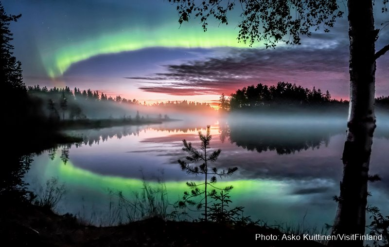 Aurora Lapland how to see it