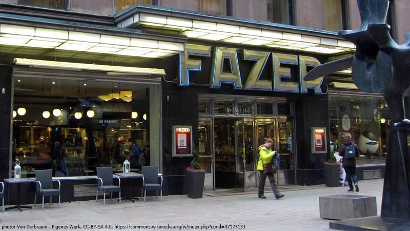 Carl Fazer cafe Helsinki
