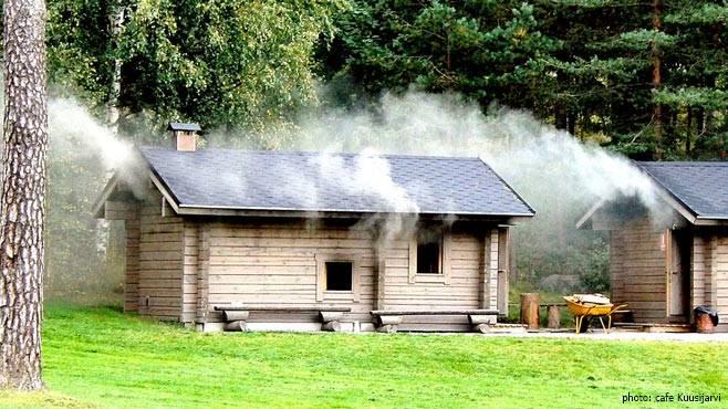 Smoke sauna Kuusijärvi