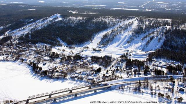Ounasvaara Ski resort Rovaniemi