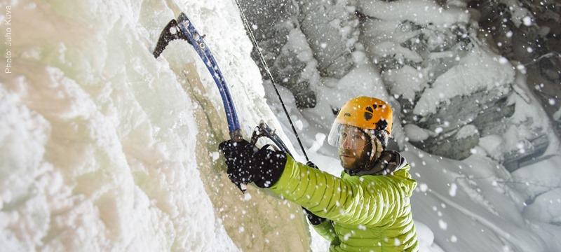ice climbing Pyhä