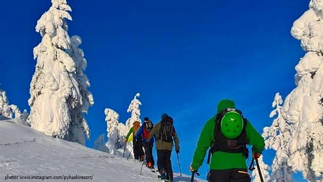 Pyha ski Lapland