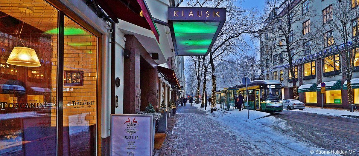 Klaus K hotel. Italian restaurant Toscanini.