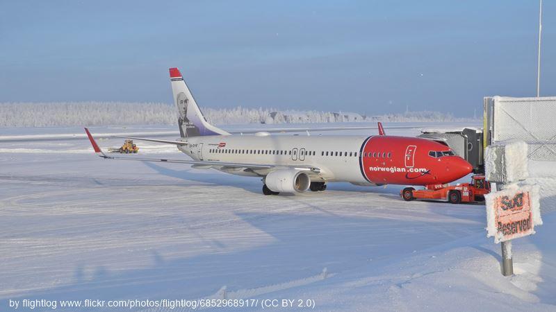 Rovaniemi Airport Norwegian Airlines