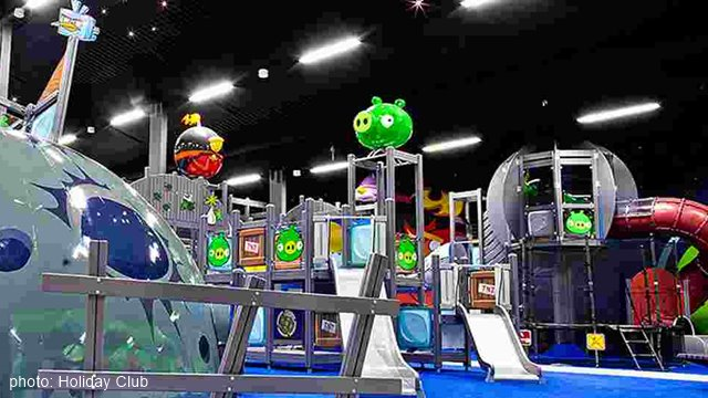 Saariselka Angry Birds activity park