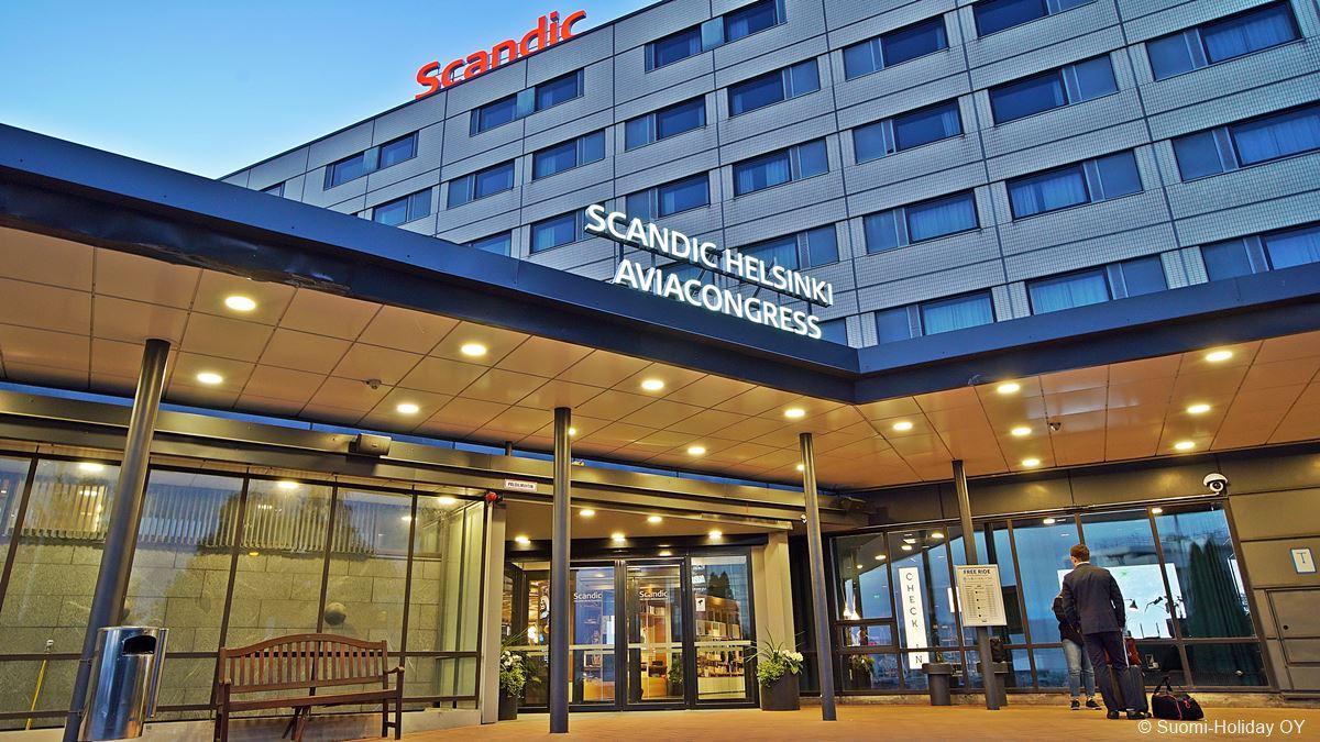 Scandic Aviacongress hotel Helsinki airport