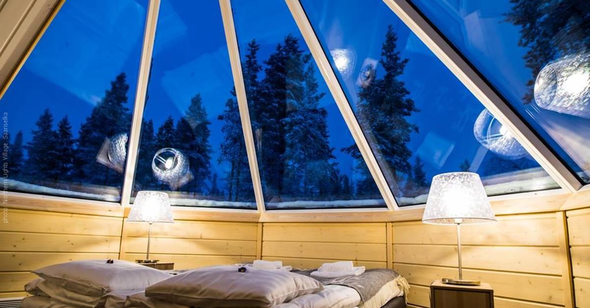 Northern Lights Village Finland Aurora Cabin
