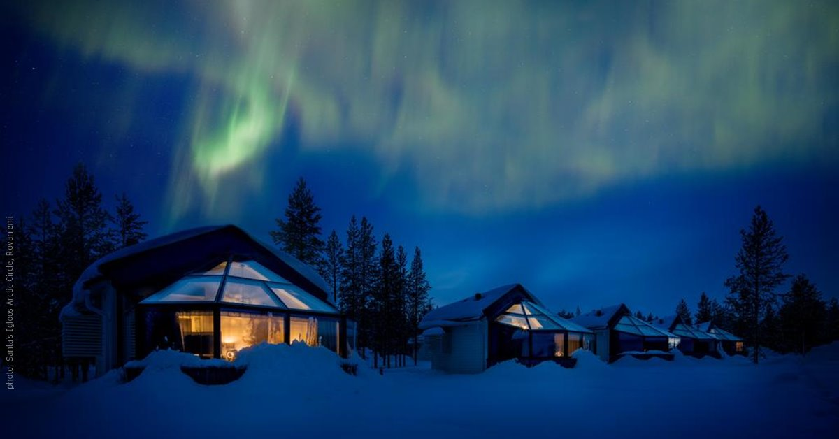 santa u0026 39 s igloos arctic circle in rovaniemi  glass igloo