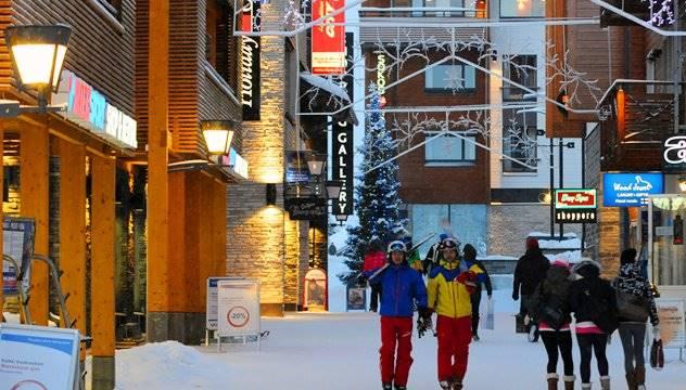 Levi ski Lapland