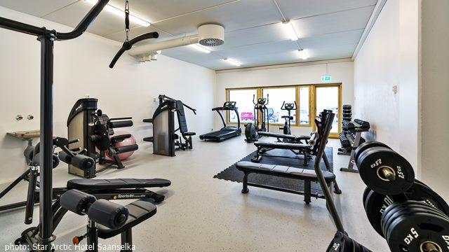 Star Arctic Hotel gym