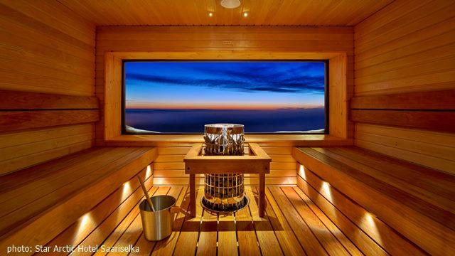 Star Arctic Hotel sauna